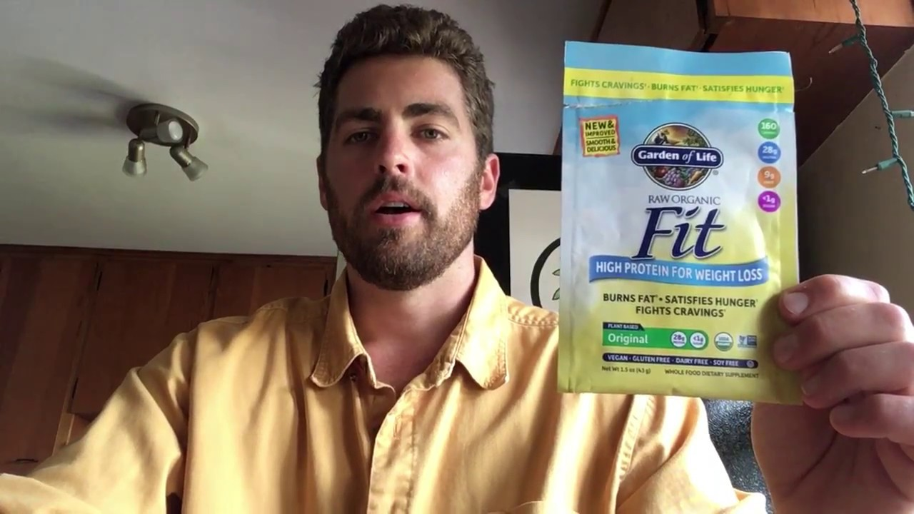 Garden Of Life Raw Fit High Protein For Weight Loss Review Youtube