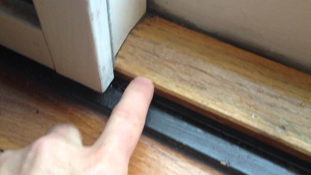 Pella Sliding Door Leak Lowes Install Youtube