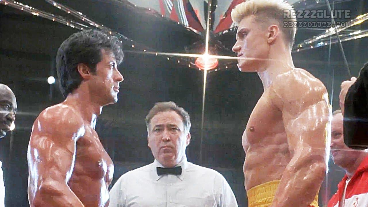 Rocky vs Drago (Stallone vs Lundgren) - YouTube