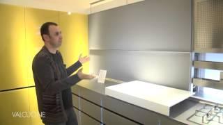 Valcucine кухня New Logica(New Logica System - революционный проект Valcucine, направленный на оптимизацию доступа и возможности использования..., 2014-02-04T11:39:17.000Z)