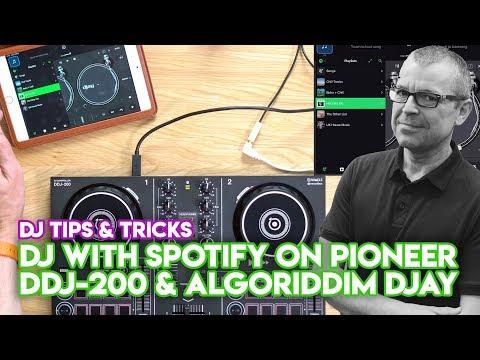 How To DJ With Spotify On Pioneer DDJ-200 & Algoriddim Djay (iPad & IPhone)