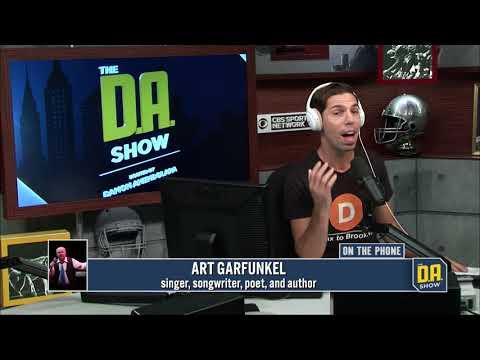 D.A. and Art Garfunkel gets very awkward, Garfunkel curses and hangs up
