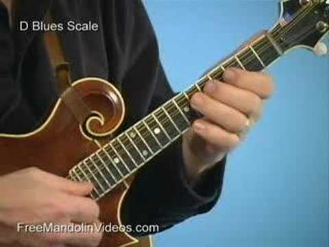 Mandolin Lesson: What is a Blues Scale