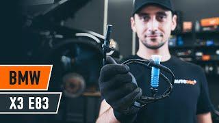 Instalación Captador ABS usted mismo videos instruccion en BMW X3
