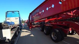 Груз 150 тонн на 20 осях Широкий дальнобой по США