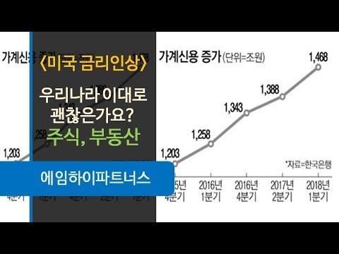[주식시장] 미국 금리인상, 우리나라 주식시장, 부동산시장 괜찮을까?