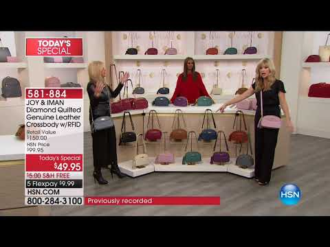 HSN   JOY & IMAN: Fashionably Functional Holiday Event 12.16.2017 - 07 AM