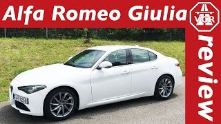 2016 Alfa Romeo Giulia Super - In Depth Review, Full Test, Test Drive