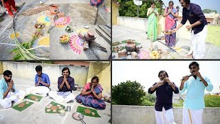 Pongal Celebration With Saapattu Raman Family | Sweet Pongal Eating Challenge |