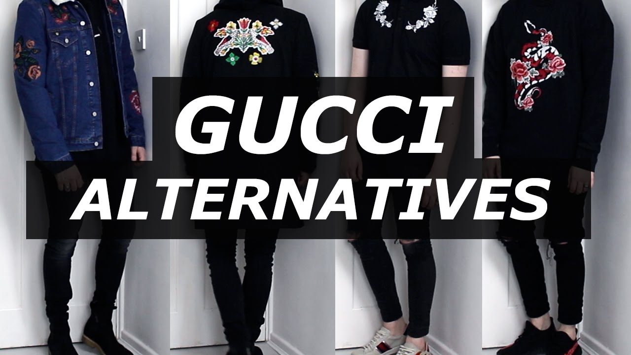 Gucci Affordable Alternatives Mens Fashion Streetwear Luxury