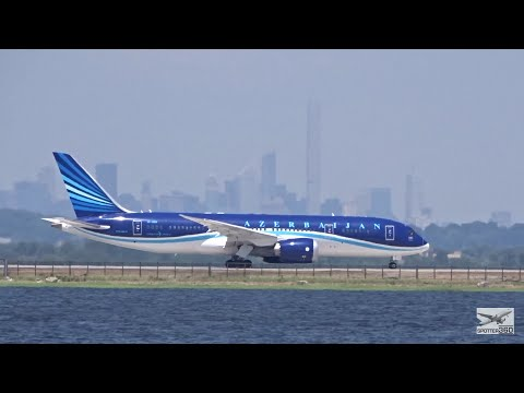 Azerbaijan Airlines Boeing 787-8 Dreamliner at JFK