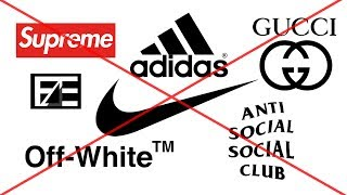 Why YOU SHOULDNT BUY HYPE CLOTHES (STREETWEAR)