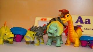Динозавры в школе. Мультик с игрушками о динозаврах. Кто спит на уроке?