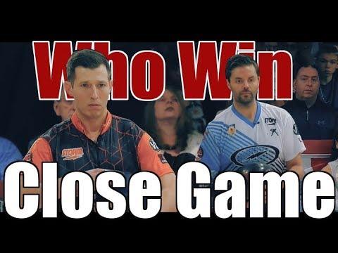 Close Game Bowling Game - Jason Belmonte VS. Matt O'Grady