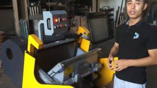 ML-750 Creasing and Die cutting machine