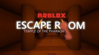 Escape Room [Alpha 2] Roblox - Temple of the Pharaoh