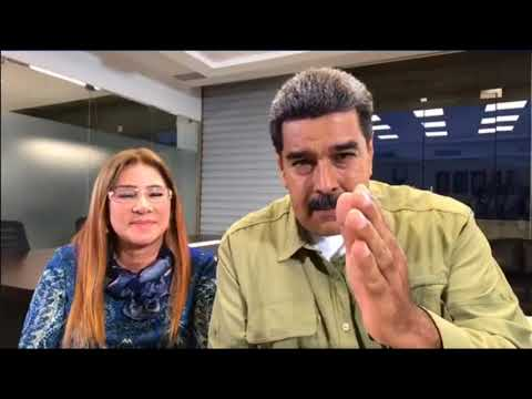 Maldicen a Maduro en vivo y esta fue su respuesta