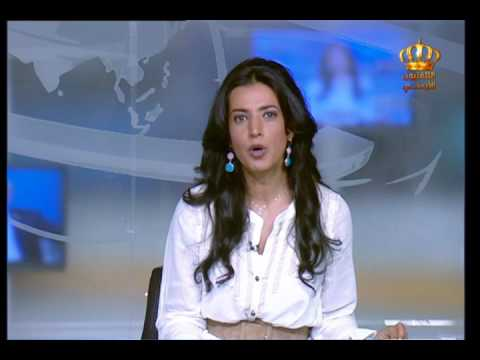 English News at Ten on Jordan Television 07-07-2017
