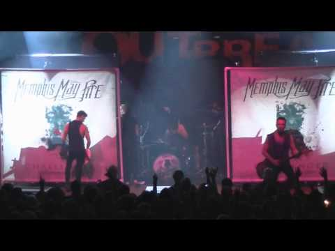 Memphis May Fire Fullset LIVE [HD] @ The Royal Oak (Monster Energy Outbreak Tour 2012)