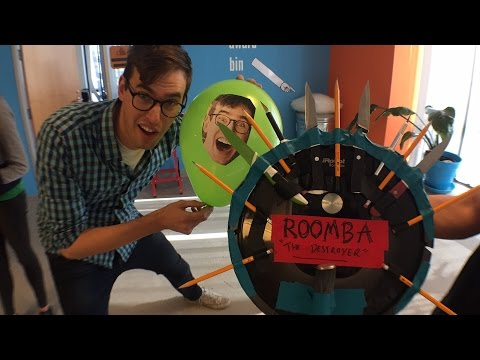 Roomba Death Match LIVE!
