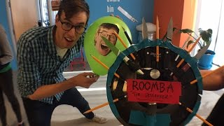 Roomba Death Match LIVE!