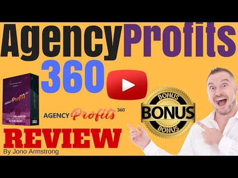 Agency Profits 360 Review, ⚠️WARNING⚠️ DON'T BUY AGENCY PROFITS 360 WITHOUT MY 👷CUSTOM👷 BONUSES!!