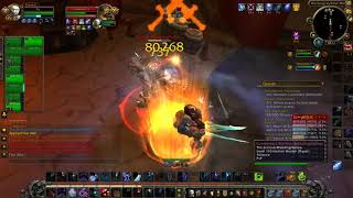FROST DK PVP 7.3 LETS CHEK A LOOK TO THE DAMAGE
