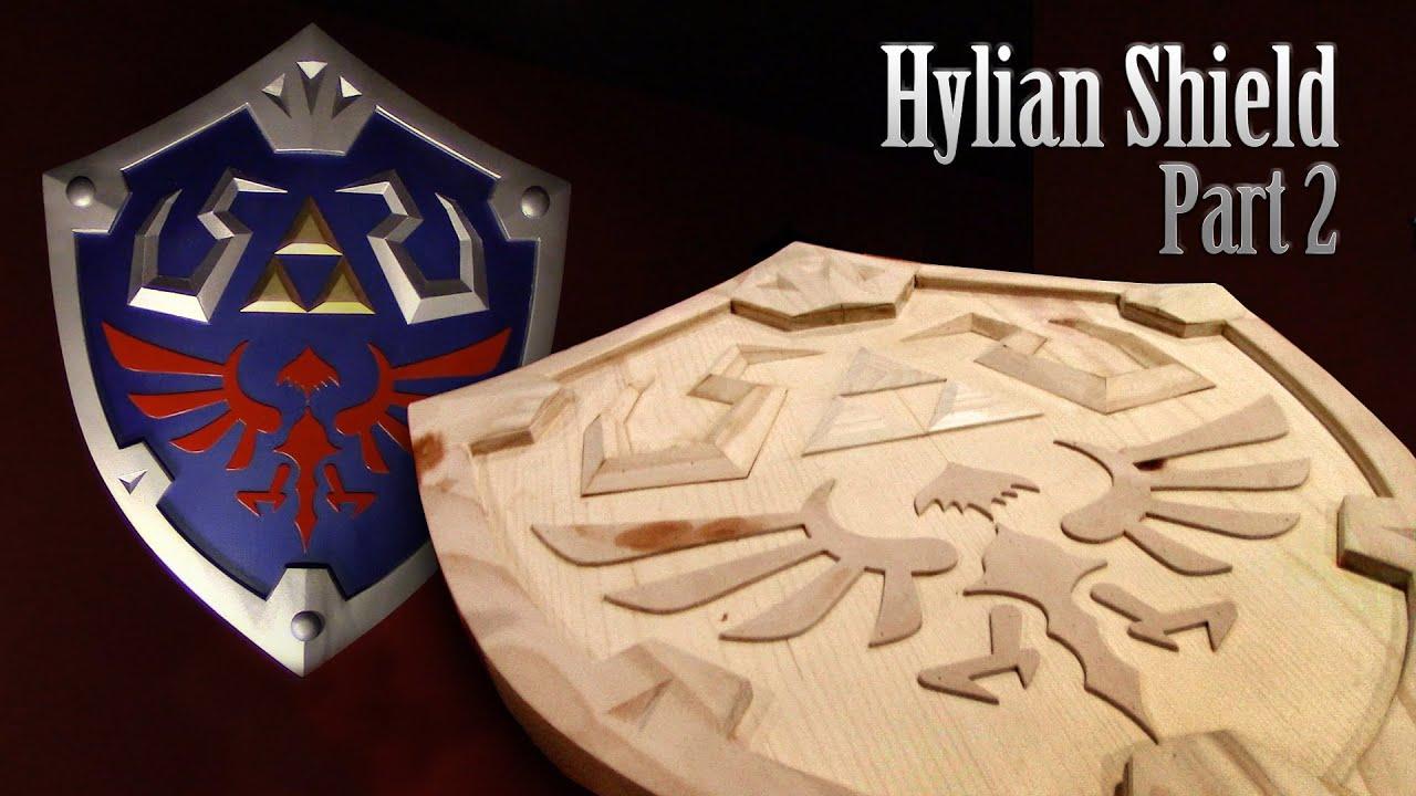Zelda Hylian Wooden Shield