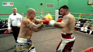 JAMIE ANDERSON (DEBUT) VS DARREN SNOW - BBTV - EMPIRE PROMOTIONS DEBUT SHOW - IRLAM & CADISHEAD