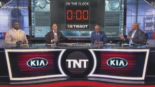 Inside The NBA  Chuck says Atlanta Hawks can only win 1 game in Playoffs