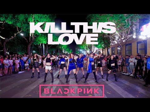 [KPOP IN PUBLIC CHALLENGE ] BLACKPINK (블랙핑크) - 'Kill This Love' DANCE COVER By FGDance From Vietnam