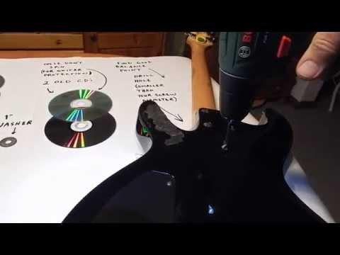 DIY Spinning Guitar Spinner Part 2