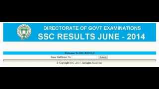 AP/Telangana SSC 10th Class Supplementary Results 2014 Published