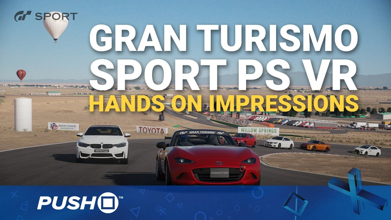 gran turismo sport playstation vr hands on impressions. Black Bedroom Furniture Sets. Home Design Ideas