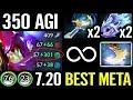 CANCER MONSTER [Slark] +350 Agi Crazy Game MAX Speed MODE Epic Pro Dota 2 Gameplay