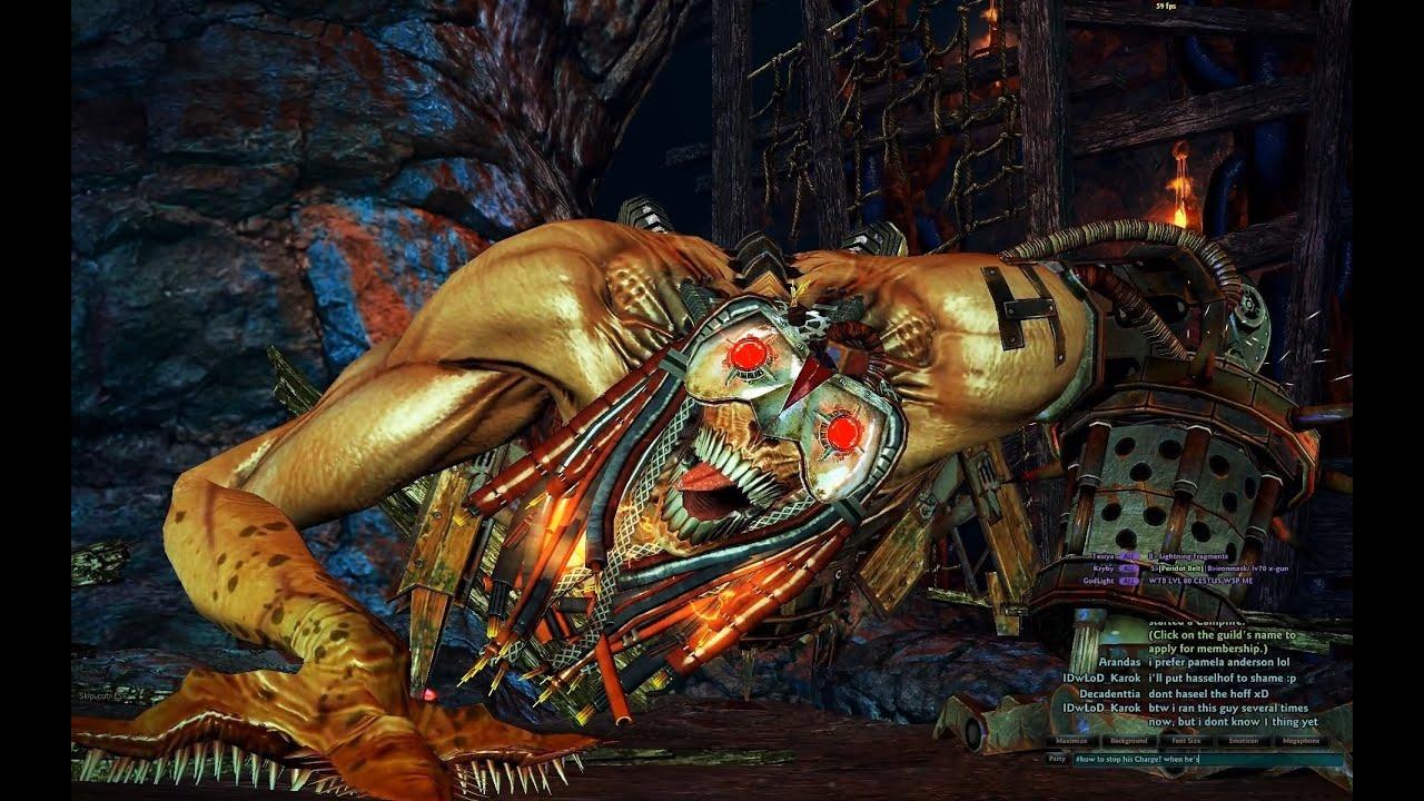 Vindictus Raid - Underground Mine - Juggernaut HD