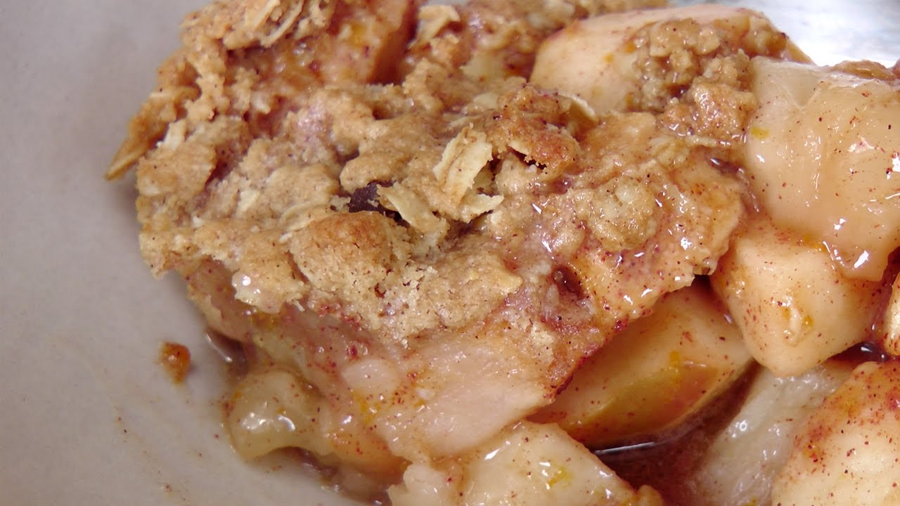 Download How to Make Apple Crisp - Recipe by Laura Vitale - Laura in the Kitchen Episode 195