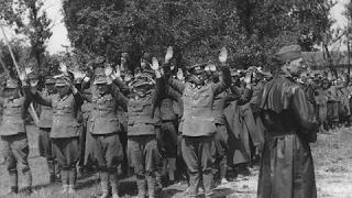 Немецкие военнопленные во Второй Мировой войне.