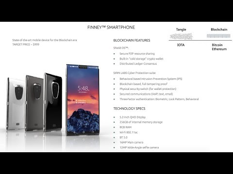 The Worlds First Blockchain Based Smartphone