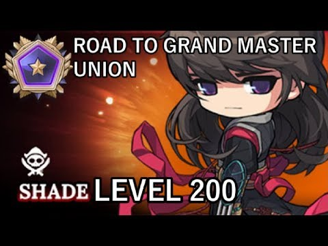 LEVEL 200 SHADE! (MapleStory Road to Grand Master Union Ep.24)