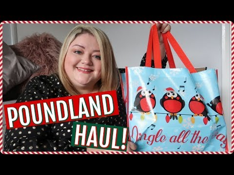 POUNDLAND HAUL DECEMBER 2018 || COLLABORATION WITH LUCY JESSICA CARTER || My Happy Ever After