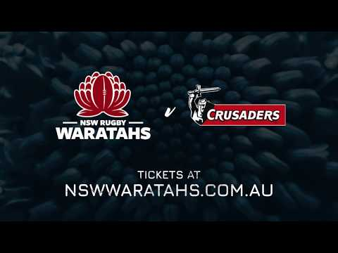 NSW Waratahs v Crusaders @ The SCG  -  HERE WE COME!