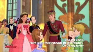 Sofia The First - Rise and Shine (animated) - Song - HD