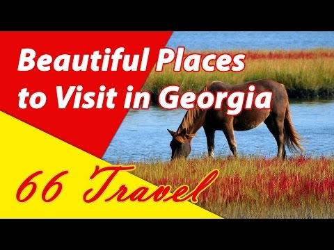 13 Most Beautiful Places to Visit in Georgia | Travel to United States