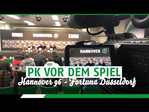 RE-LIVE: PK vor dem Spiel | Hannover 96 - Fortuna Düsseldorf