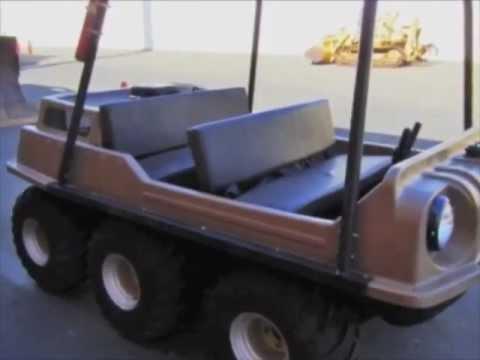 Max IV 6x6 Amphibian ATV on GovLiquidation