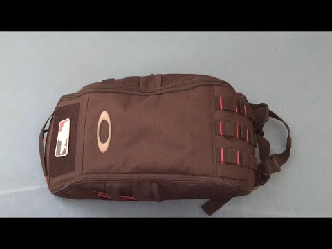 3705908b70 Oakley Extractor Sling Backpack- Part 2 - YouTube