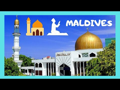 THE MALDIVES: the magnificent GRAND FRIDAY MOSQUE in Malé (Indian Ocean)