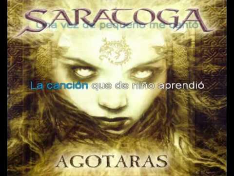 Parte de mi (Saratoga) cover