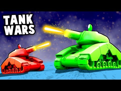 EPIC TANK WARS! Destroying Enemies with...